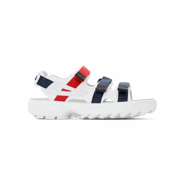 Fila Disruptor Sandal white-navy-red