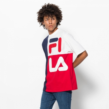 Fila Indo Color Blocked American Fit Tee