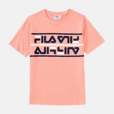Fila Kids Salman Tee lobster-bisque