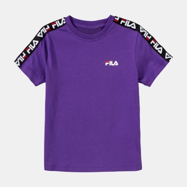 Fila Kids Tait Tee tillandsia-purple