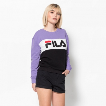 Fila Leah Crew Sweat violet-tulip-black