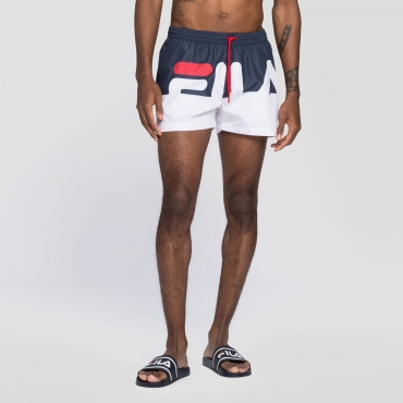 Fila Makoto Swim Shorts black-iris-white