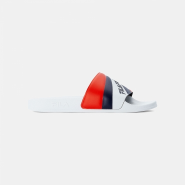 Fila Marina Slipper Wmn white-navy-red