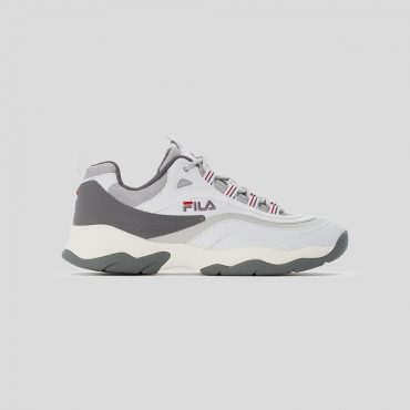 Fila Ray CB Low Men white-gray-violet