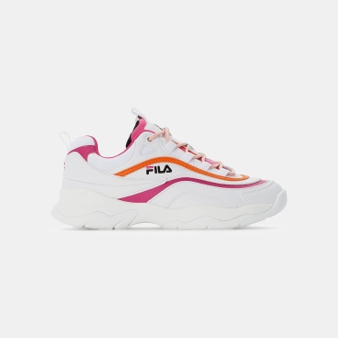 Fila Ray CB Low Wmn white-pink-mandarin
