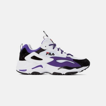 Fila Ray Tracer Wmn white-black-electric-purple