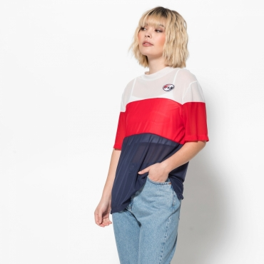 Fila Reina 0 Layer Color Blocked Shirt