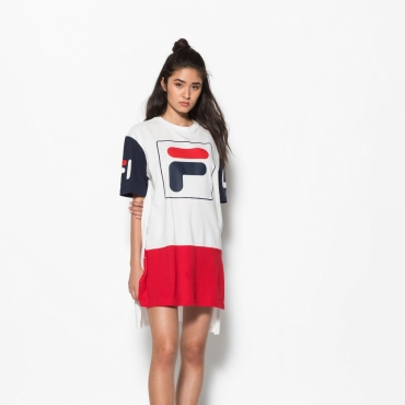 Fila Sky Tee Dress white