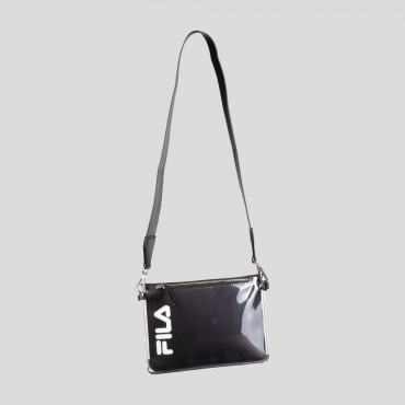 Fila Transparent Cross Body Bag black