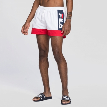 Fila Yumma Swim Shorts white