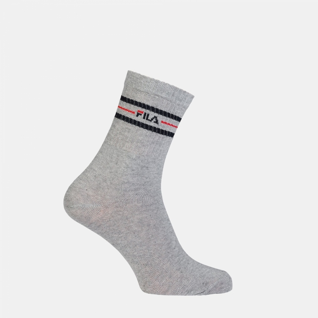 Fila 3 Pairs Unisex Vintage Tennis Socks