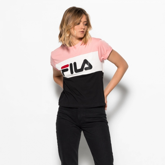 Fila Allison Tee pink-white-black