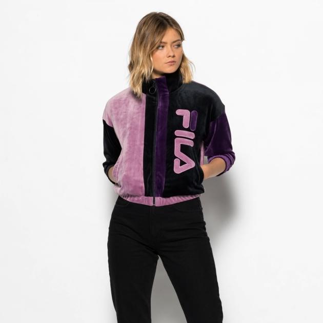 Fila Aya Velour Track Jacket