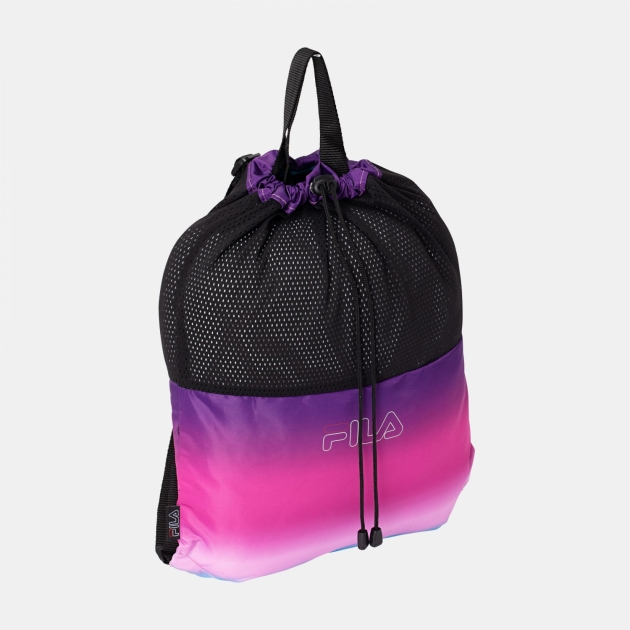 Fila Backpack Mesh Drawstring Printed