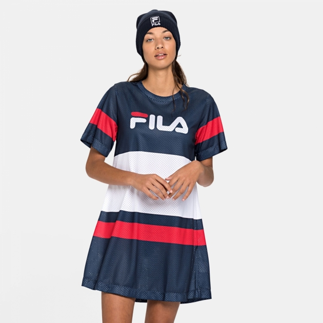 Fila Basanti Tee Dress navy