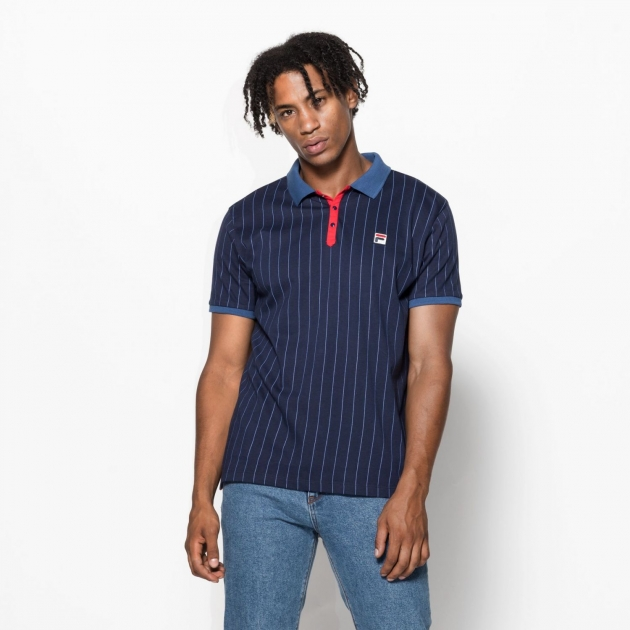 Fila BB1 Classic Vintage Stripes Polo