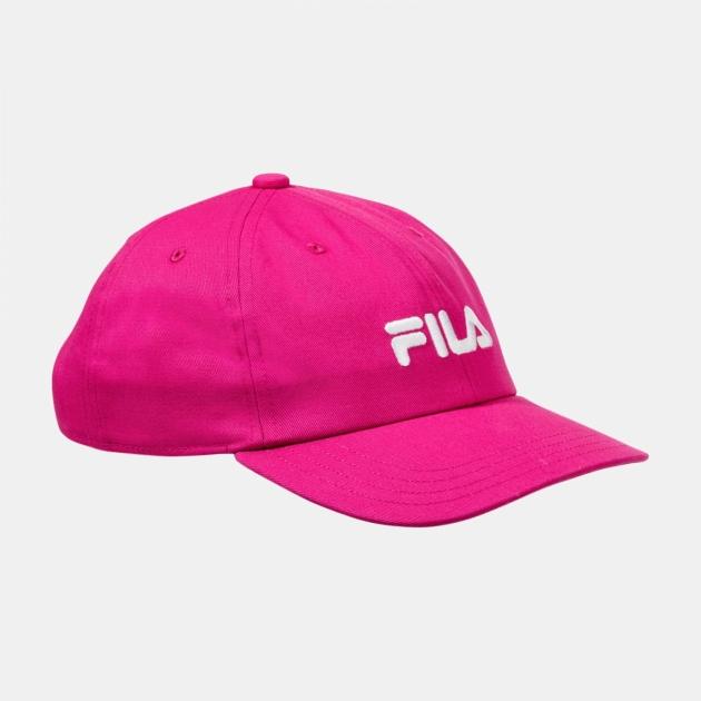 Fila Cap Linear Logo Kids pink-yarrow