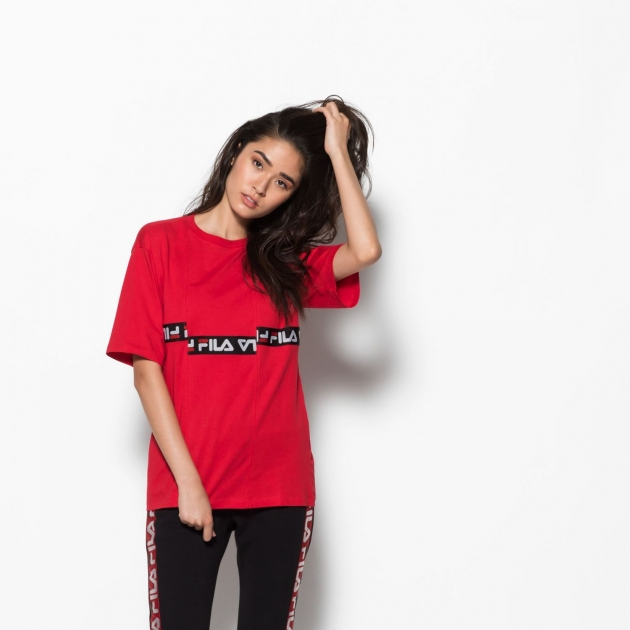 Fila Charo Tee red-black