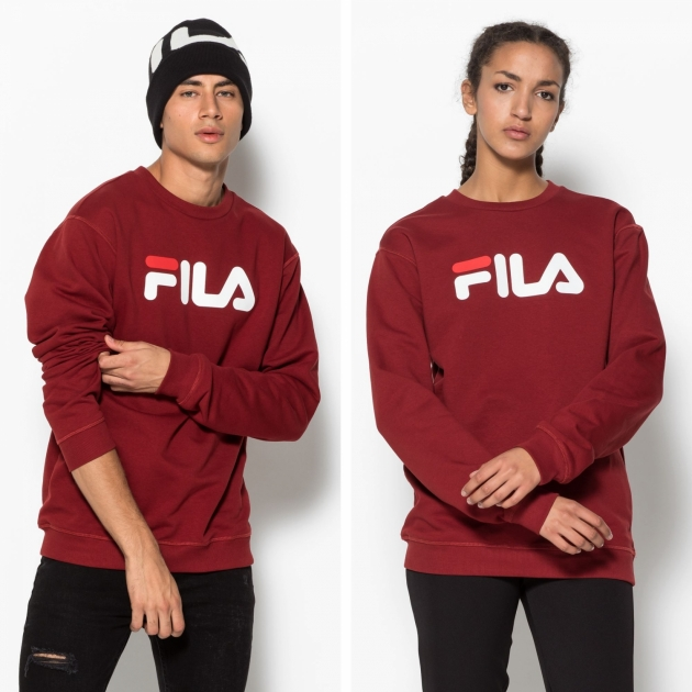Fila Classic Pure Crew Sweat merlot-red