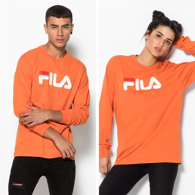 Fila Classic Pure Long Sleeve Shirt harvest-pumpkin