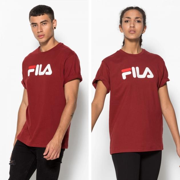 Fila Classic Pure Tee merlot-red