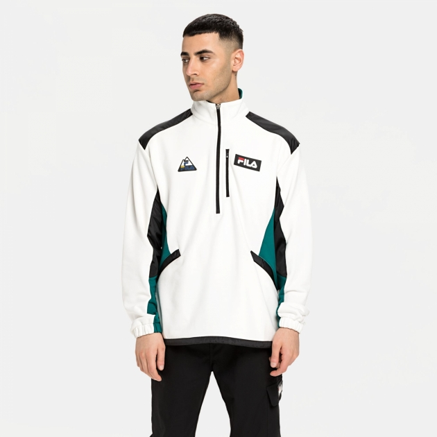 Fila Clem Half Zip Sweat Shirt
