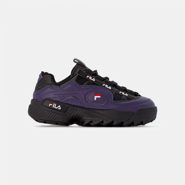 Fila D-Formation Wmn purple-black