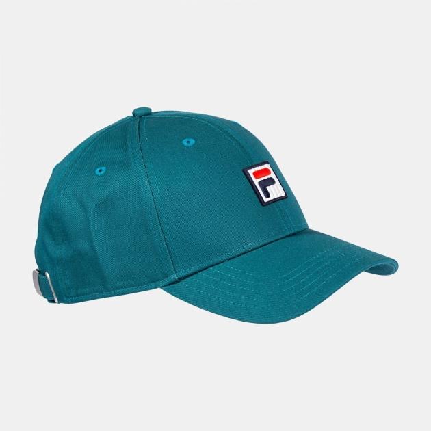 Fila Dad Cap With F-Box Logo / Strap Back