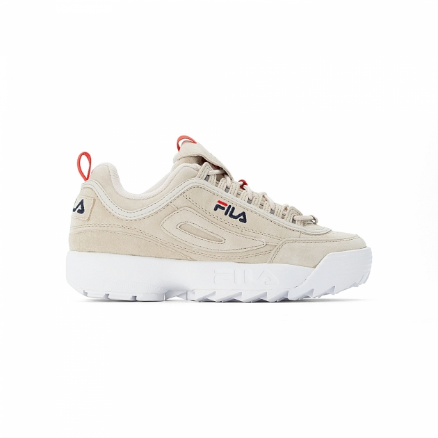 Fila Disruptor S Low Wmn turtledove-beige