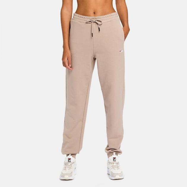Fila Edena High Waist Sweat Pants oxford-tan
