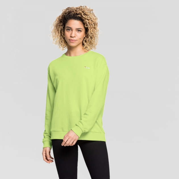 Fila Effie Crew Sweat sharp-green