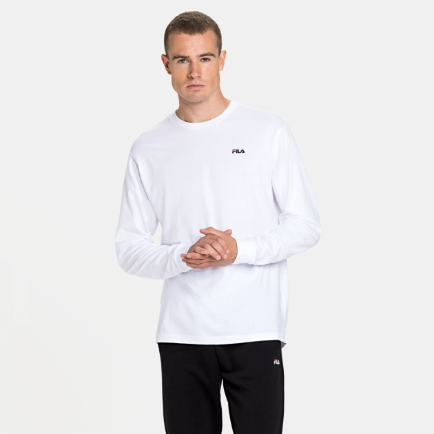 Fila Eitan Long Sleeve Shirt white