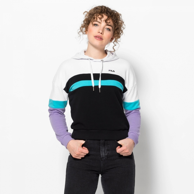 Fila Ella Hoody white-violet-blue