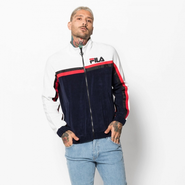 Fila Ethan Terry Toweling Track Jacket