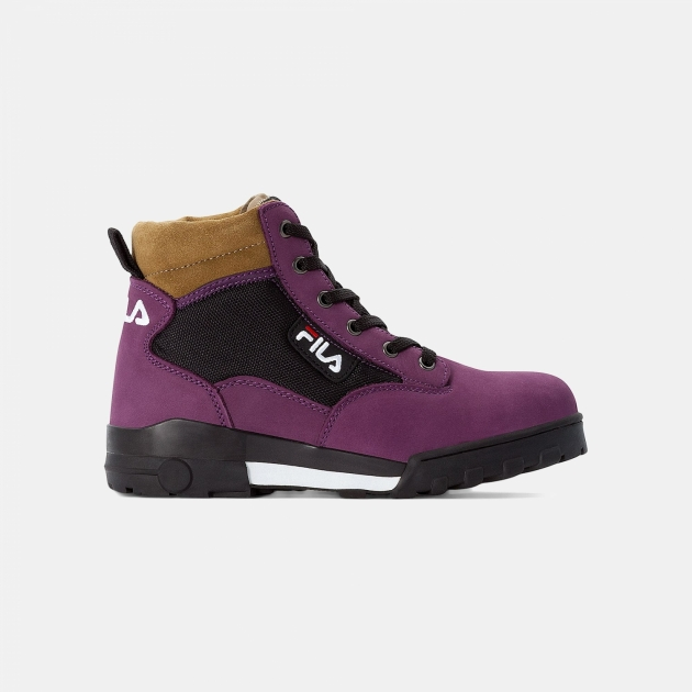 Fila Grunge 2 Mid Wmn blackberry-wine