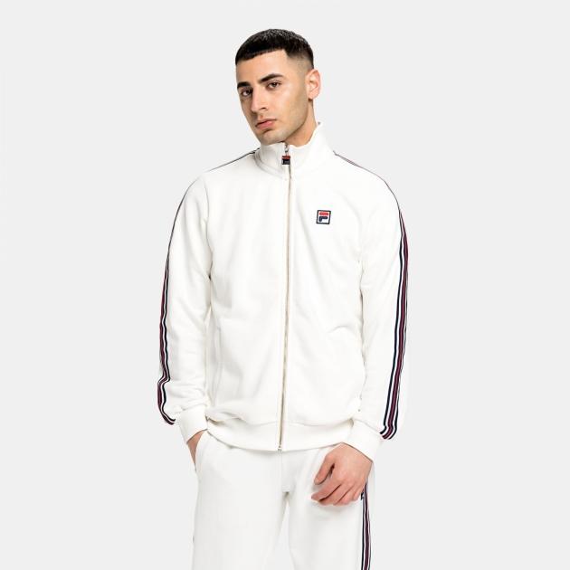 Fila Hemi Track Jacket blanc-de-blanc