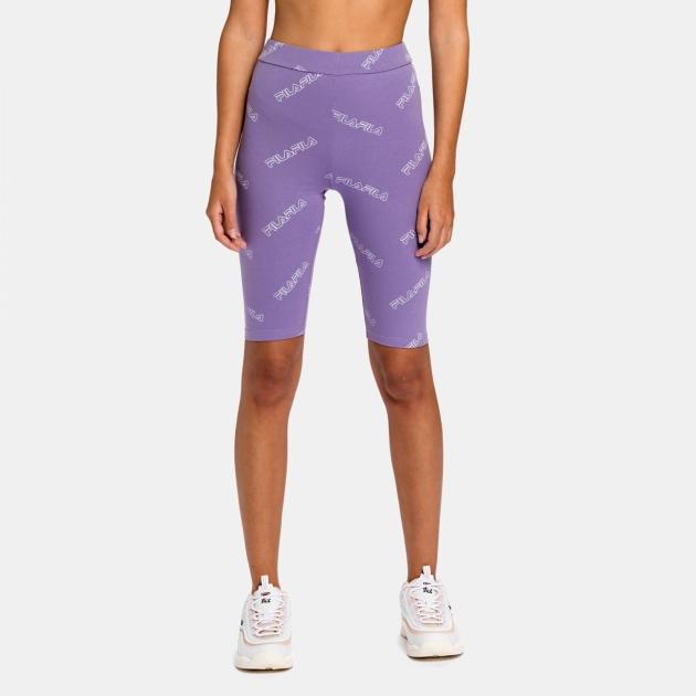 Fila Janelle AOP Shorts Leggings purple-haze