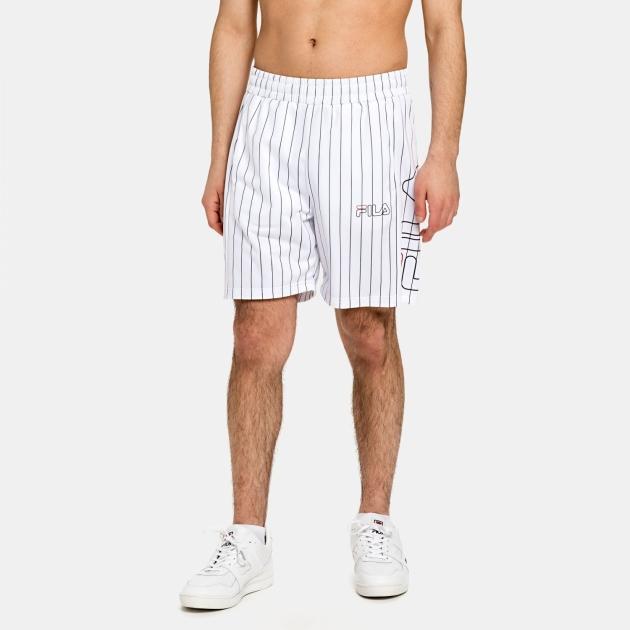 Fila Jani Striped Sporty Shorts white