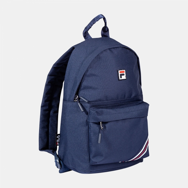 Fila Kids Backpack S´Cool Two Small Heritage Stripe black-iris