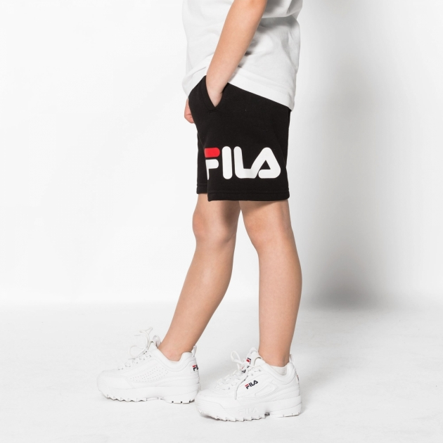 Fila Kids Classic Basic Shorts black