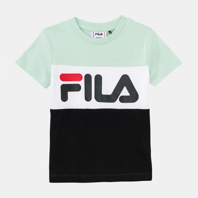 Fila Kids Classic Day Blocked Tee mist-green