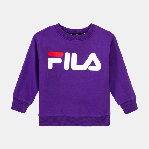 Fila Kids Classic Logo Crew Sweat tillandsia-purple