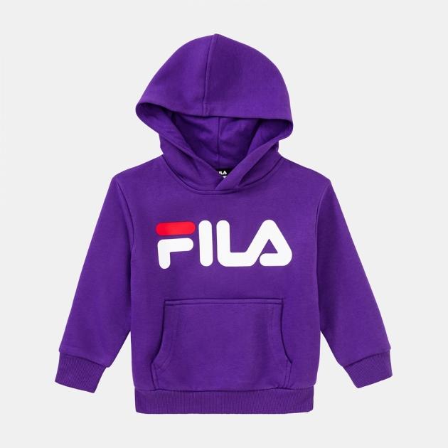 Fila Kids Classic Logo Hoody tillandsia-purple