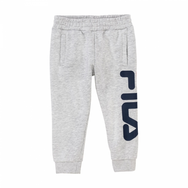 Fila Kids Classic Logo Pants lightgrey-melange