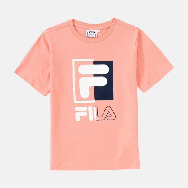 Fila Kids Saku Tee lobster-bisque