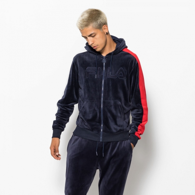 Fila King Velour FZ Track jacket