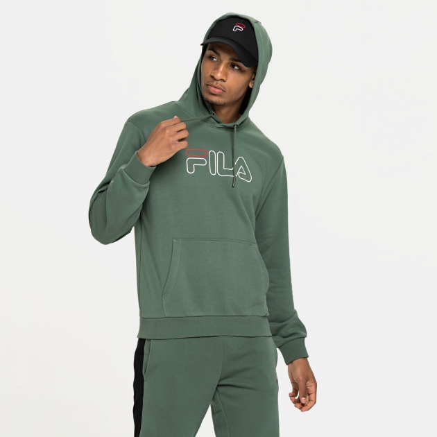 Fila Laban Hoody duck-green