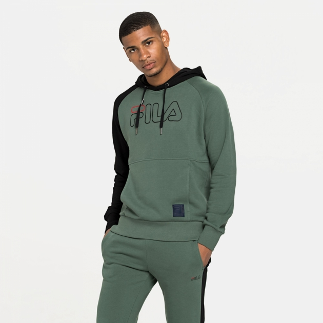 Fila Lauri Hoody green-black