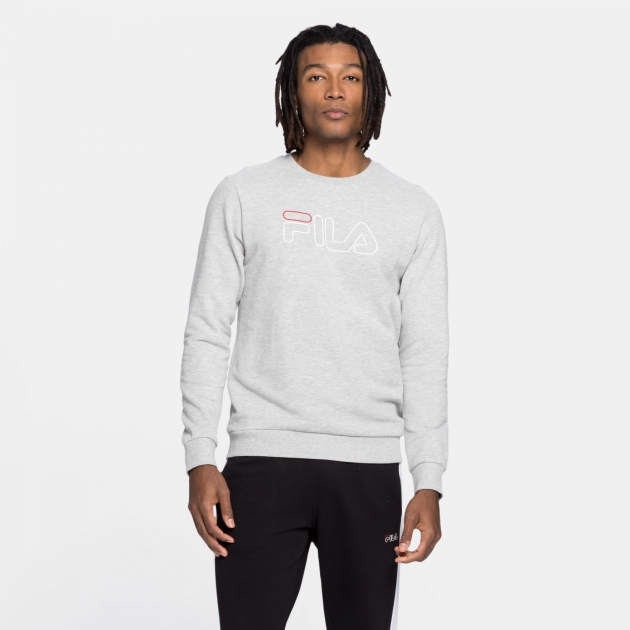 Fila Liam Crew Sweat lightgrey-melange