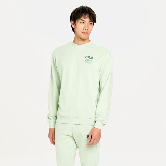Fila Liam Crew Sweat slit-green